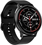 Full Touch Smart Watch Mujeres Impermeable Pulsera ECG Monitor de ritmo cardíaco Monitoreo del Sueño Smartwatch Hombres Conectar iOS Android Moda A