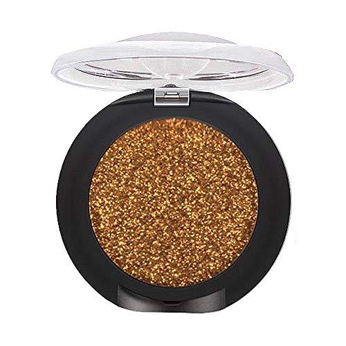 Lecimo10 Farben Glitter Lidschatten Pigment Wasserdicht Lidschatten Beauty Make-Up Kosmetik, 8#