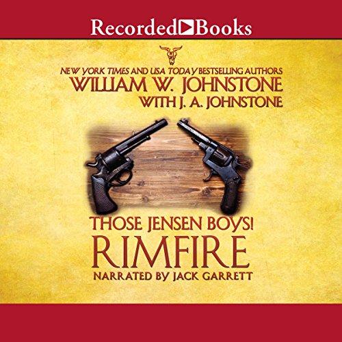 Those Jensen Boys! Rimfire audiobook cover art