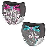 Huggies DryNites hochabsorbierende Pyjamahosen Unterhosen für Mädchen Jumbo Monatspackung, 8-15 Jahre (52 Stück) - 8