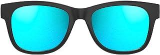VocalSkull Alien 5 Bone Conduction Glasses Wireless Bluetooth 4.2 Headphones Polarized Sunglasses Stereo Music Waterproof ...