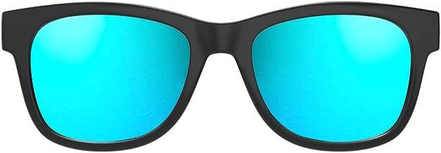 VocalSkull Gafas de Conducción ósea con Auriculares Inalámbricas Bluetooth con Audífonos estéreo Música Manos Libres Gafas de Sol a Prueba de Agua con Micrófono con cancelación de Ruido