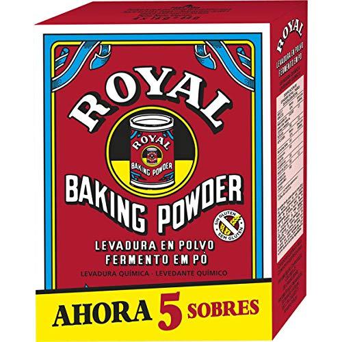 Levadura Paquete Royal 5 Sobres 80gr