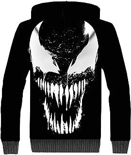 8813c42f70 Nexthops Venom Sweat à Capuche Epais à Manche Longue Unisexe Adulte Taille  Européenne Film 2018 en