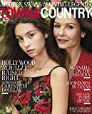 Town & Country Magazine (September, 2018) Catherine Zeta Jones and Carys Zeta Douglas