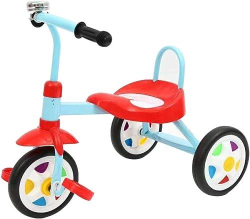 barato en alta calidad Bicicleta de tres ruedas para Niños Bicicleta para para para Niños sin pedal Aleación de aluminio Carrito de cochecito de bebé de 12 pulgadas de Balance de coches de Color 1-3-6 años,azul,516444cm  protección post-venta