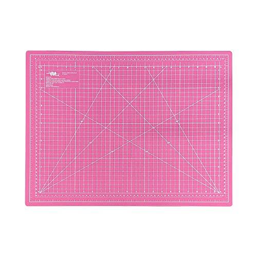 Base De Corte Rosa 45x60 De Patchwork E Scrapbook Qualidade