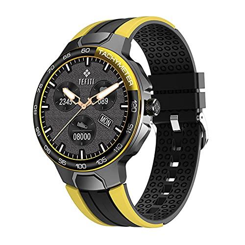 YZK Smart Watch Men's Sports Watch IP68 Impermeable GPS Seguimiento de la frecuencia cardíaca Tiempo Smartwatch,C
