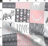 Quilt, Liebe, Kinderzimmer, Patchwork, Wholecloth,