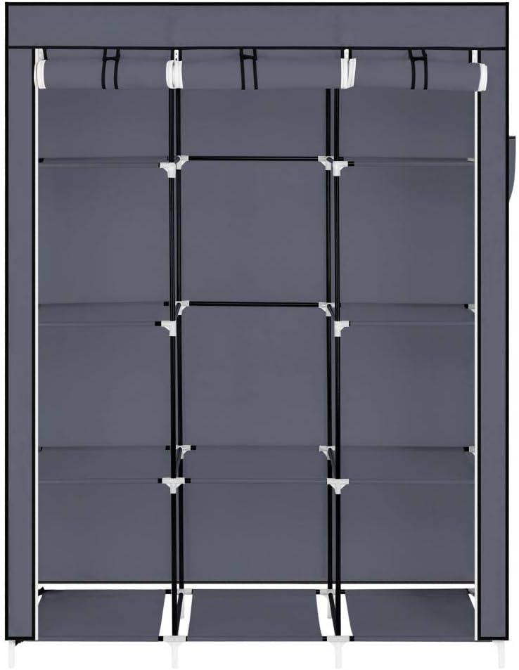 ACOMOO67 Portable Closet Organizer Storage Some reservation Wardrobe Max 40% OFF wi