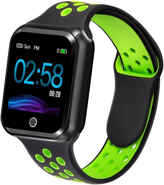 WAFA Fitness Tracker with Heart Rate Blood Pressure Monitor Waterproof Sports Smart Watch Bluebooth