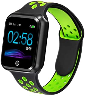 Fitness Tracker with Heart Rate Blood Pressure Monitor, Waterproof Sports Smart Watch, Bluebooth...