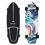 Boilgon 29 Inch Carver Skateboard Cruiser Mixture