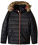 Roxy Snow Big American Pie Solid Girl Jacket, True Black AZTECSPIRITEMBOS, 12/L