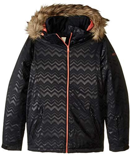 Roxy Snow Big American Pie Solid Girl Jacket, True Black AZTECSPIRITEMBOS, 8/S