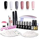 Best Gel Polish Kits - Gel Nail Starter Kit with UV Light Review