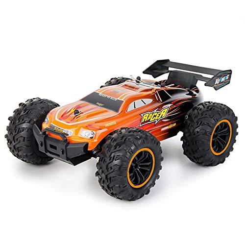 SSBH Vehículo exterior de la deriva de alta velocidad eléctrica 1/18 camioneta, camioneta, aleación de todo terreno escalada en bicicleta de montaña Bigfoot, modelo de juguete para adultos y niños, me