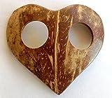 1 x Spange herzform für Sarong, Pareo, Hüfttuch, Wickel-Rock, Strandtuch, Sarongspange Herz