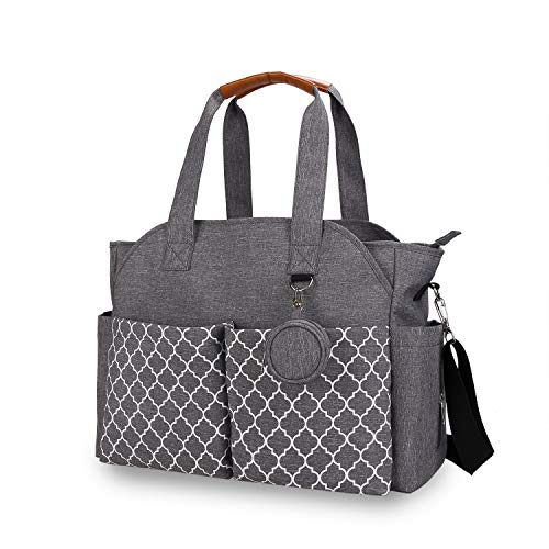 Baby Nappy Changing Bag Tote Diaper Bag Backpack with Shoulder Strap and...