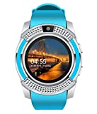GIXON V8 Smart Watch Bluetooth Smartwatch Compatible with All Mobile Phones for Boys