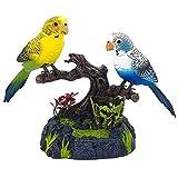 Sprechen Papagei Vogel Wiederholen Spielzeug Interaktive Sound Control Sprechen Sprechen Rekord Wiederholt Pet Vogel Spielzeug Simulation Elektrische Vogel Pet Spielzeug Für Kinder (1 para),A