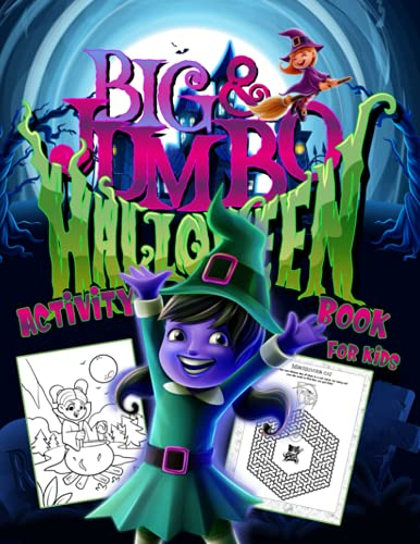Compare Textbook Prices for Big & Jumbo Halloween Activity Book for Kids: Spooky Game Workbook and Craft For Children Age 6-10 100 task pages   Costume Party Coloring, Crossword Puzzle, Dot to Dot, Mazes, Word Search and More  ISBN 9798523078996 by Expander, Activity