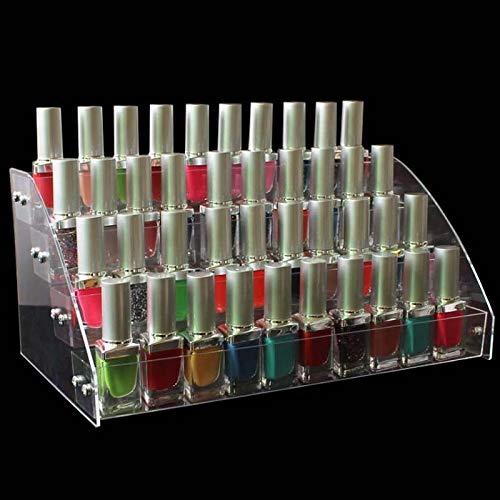 Lorenory Make-up organizer 2/3/4/5/6/7 Lagen Nagellak Display Rack Acryl Helder Cosmetisch Vernis Display Stand Houder Manicure Organizer Opslag