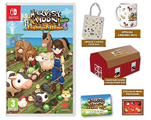 Harvest Moon: La luz de la esperanza Edición Coleccionista Nintendo Switch