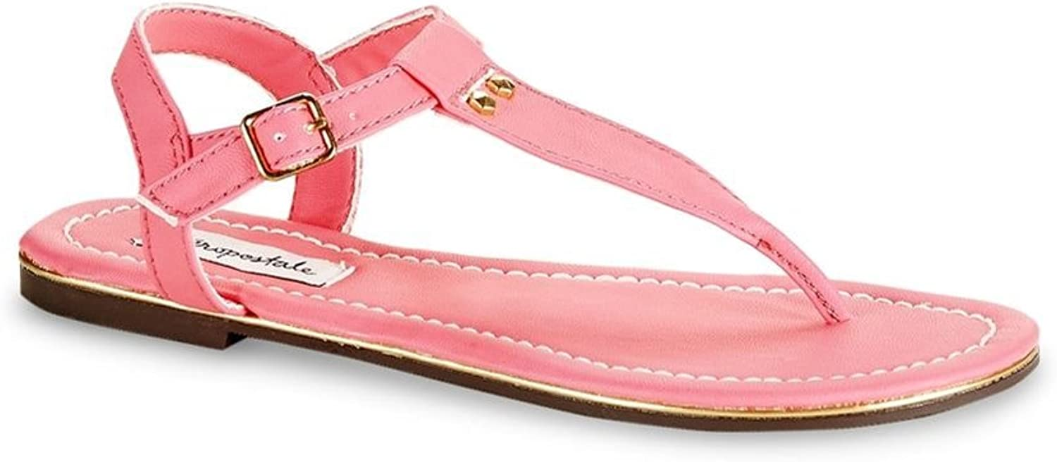 Aeropostale Womens Neon Studded Sandals