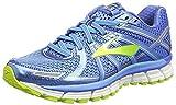 Brooks Women's Adrenaline Gts 17 Running Shoes, Blue (Azure Blue/palace Blue/lime Punch) - 5.5 UK