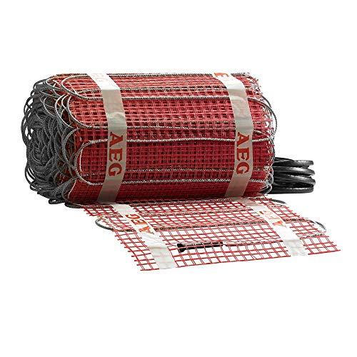 AEG Haustechnik 234532 elektrische Fußbodenheizung THERMO BODEN Comfort, rot, 8 m²