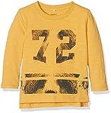 NAME IT Jungen NITLOKAS LS TOP MZ Langarmshirt, Gelb (Golden Apricot), 80
