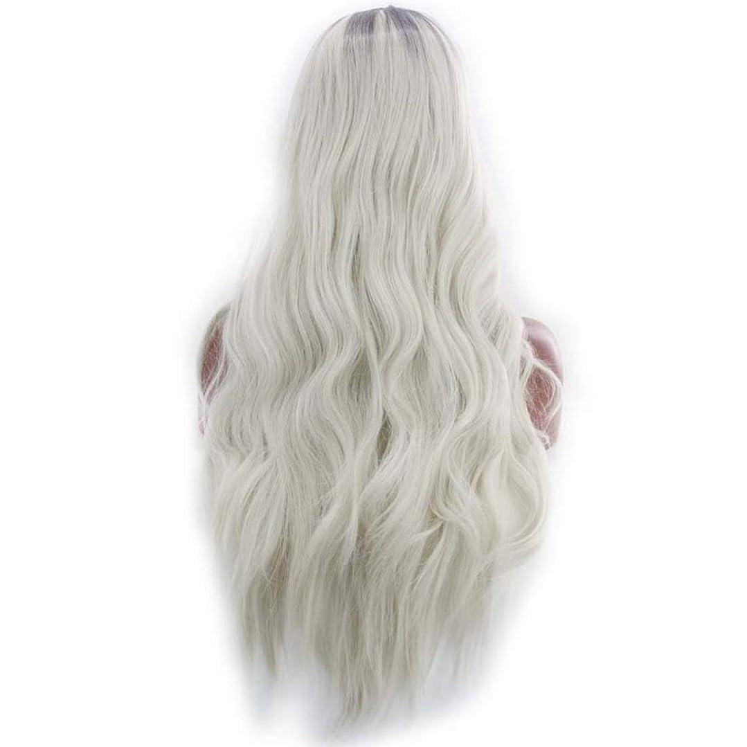 落ち着いた原因見出しKoloeplf 女性のためのふわふわの現実的なかつら複数の色で大きな波状の長いかつらかつら耐熱性かつら長さ65 cm