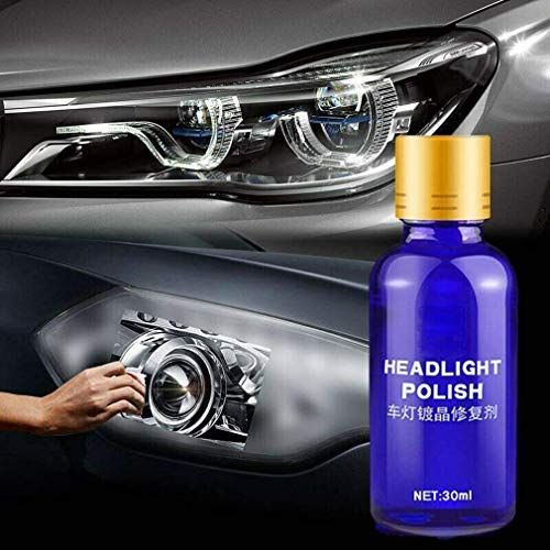 Dragon Honor 9H Car Headlamp Headlight Lens Restorer Repair Liquid Polish Cleaning Tool 30ML