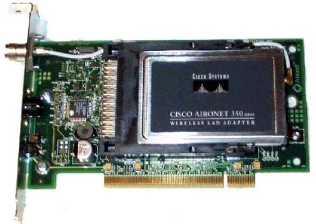 批評ピクニックチーズCisco Aironet 350 Series 11Mbps Wireless LAN PCI Adapter (AIR-PCI352) [並行輸入品]