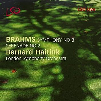 Brahms: Symphony No. 3, Serenade No. 2