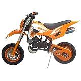 Pitbike mini 49cc Flames, con motor de 49cc de 2 tiempos automático/mini moto, mini dirt bike, minipitbike.