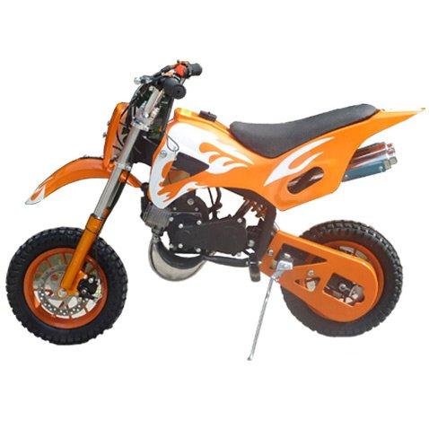 Giocattolo cavalcabile, mini pitbike mini 49 cc, con motore 49 cc a 2 tempi automatico/mini moto, mini dirt bike, mini pitbike