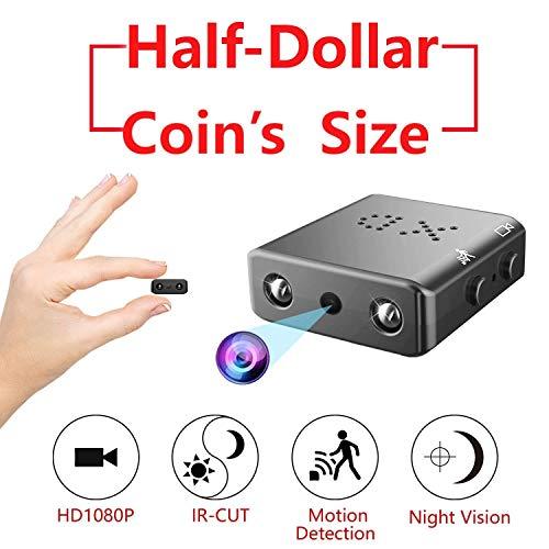 Cámara espía Oculta, HD 1080P Mini Ocultar grabadora de vídeo de la niñera con visión Nocturna y detección de Movimiento para la cámara de Seguridad encubierta Interior ( Color : No Memory Card )