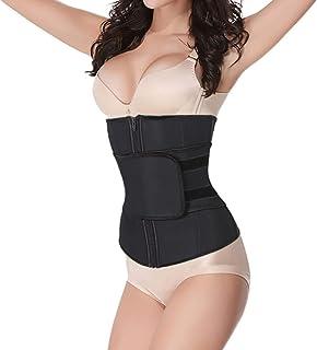 5a00f0f8378 Women Waist Trainer Cincher Abdominal Belt High Compression Zipper Plus Size  Latex Sweat Control Corset Underbust
