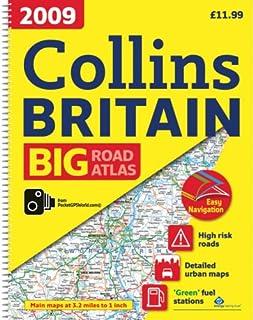 2009 Collins Big Road Atlas Britain