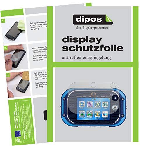 dipos I 2X Schutzfolie matt kompatibel mit Vtech Kidizoom Touch 5.0 Folie Displayschutzfolie