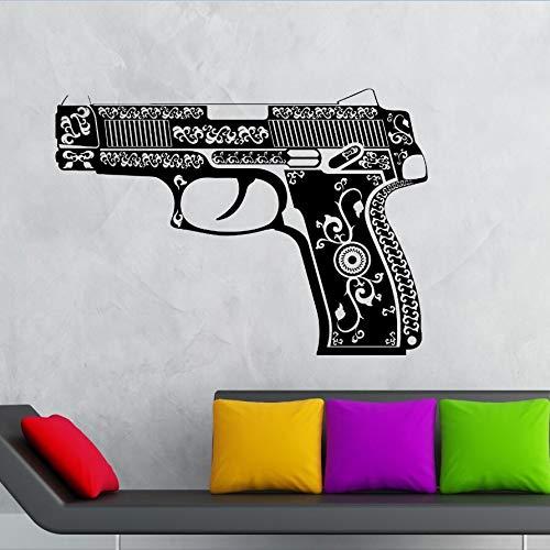 ASFGA Spielausrüstung Vinyl Wandtattoo Böhmische Wandaufkleber Militär Wohnzimmer Schlafzimmer Dekoration Kreative Wandkunst Wandtattoo 80x57cm