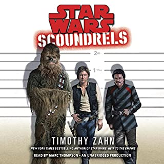 Scoundrels: Star Wars Legends audiobook cover art