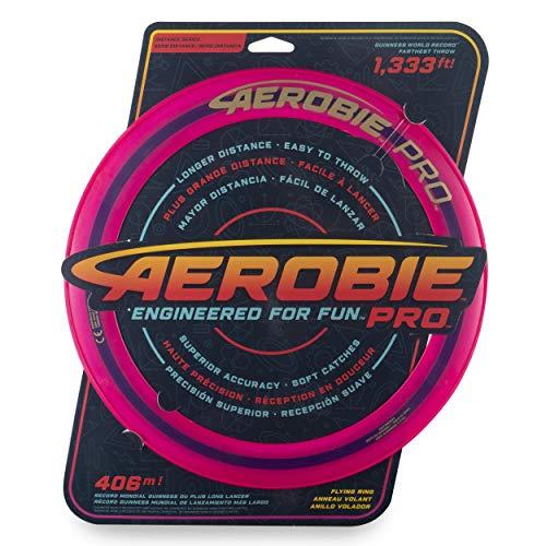 Aerobie Pro Flying Ring Wurfring mit Durchmesser 33 cm, farblich sortiert