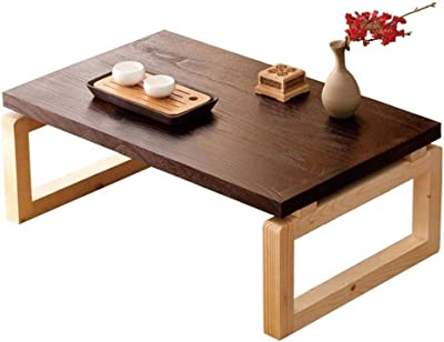 JCCOZ-URG Easy Assembly Industrial Coffee Table for Living Room Wooden Coffee Table, 60 * 40 * 30cm JCCOZ-URG