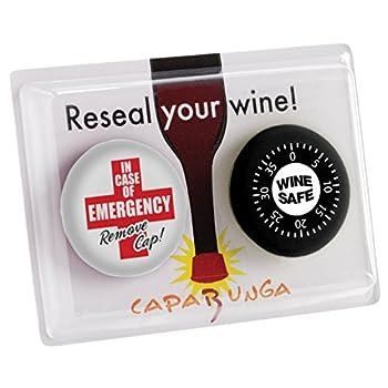 CapaBunga - The Reusable Cap for a Wine Bottle - Wine Safe & Emergency