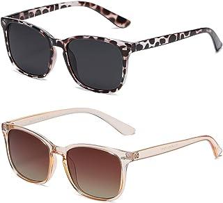 Polarized Sunglasses for Women Classic Retro Style 100% UV Protection