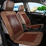 Unbekannt Autositzbezug Bambus Cool Pad Sommer Breathable Cool Full Set von Kissen für