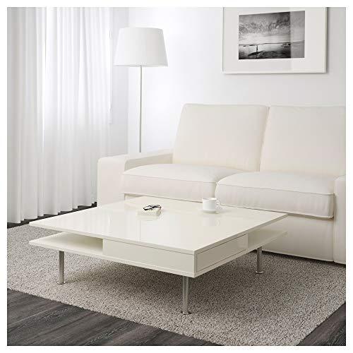 IKEA Tofteryd Couchtisch, Hochglanz-Weiß